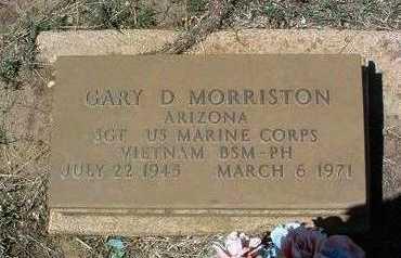 MORRISTON, GARY DANE - Yavapai County, Arizona | GARY DANE MORRISTON - Arizona Gravestone Photos