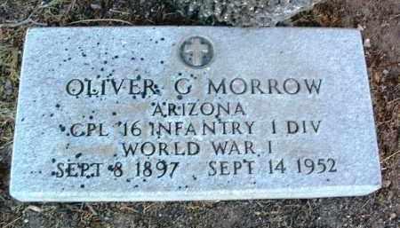 MORROW, OLIVER GEORGE - Yavapai County, Arizona   OLIVER GEORGE MORROW - Arizona Gravestone Photos