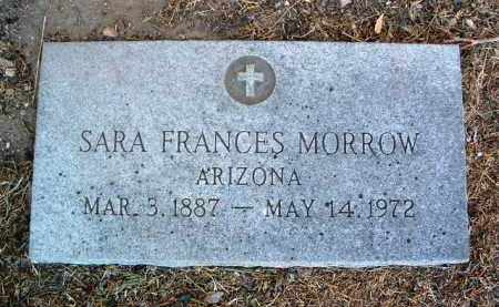 MORROW, SARA FRANCES - Yavapai County, Arizona | SARA FRANCES MORROW - Arizona Gravestone Photos