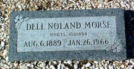 MORSE, DELL NOLAND - Yavapai County, Arizona   DELL NOLAND MORSE - Arizona Gravestone Photos