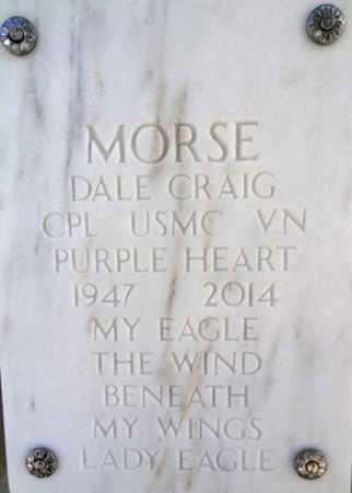 MORSE, DALE CRAIG - Yavapai County, Arizona | DALE CRAIG MORSE - Arizona Gravestone Photos