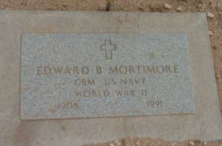 MORTIMORE, EDWARD BURRELL - Yavapai County, Arizona   EDWARD BURRELL MORTIMORE - Arizona Gravestone Photos