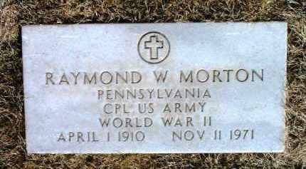 MORTON, RAYMOND W. - Yavapai County, Arizona | RAYMOND W. MORTON - Arizona Gravestone Photos