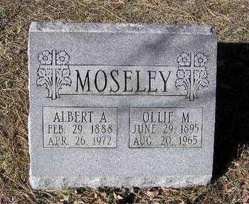 MOSELEY, OLLIE MAY - Yavapai County, Arizona   OLLIE MAY MOSELEY - Arizona Gravestone Photos
