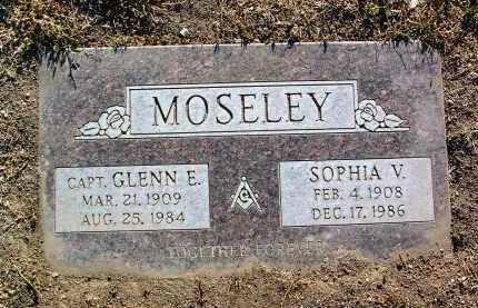 MOSELEY, GLENN EUGENE - Yavapai County, Arizona   GLENN EUGENE MOSELEY - Arizona Gravestone Photos