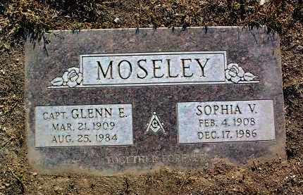 TRAYLOR MOSELEY, SOPHIA VIOLA - Yavapai County, Arizona | SOPHIA VIOLA TRAYLOR MOSELEY - Arizona Gravestone Photos