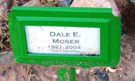 MOSER, DALE EDGAR - Yavapai County, Arizona | DALE EDGAR MOSER - Arizona Gravestone Photos