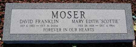 MOSER, DAVID FRANKLIN - Yavapai County, Arizona | DAVID FRANKLIN MOSER - Arizona Gravestone Photos