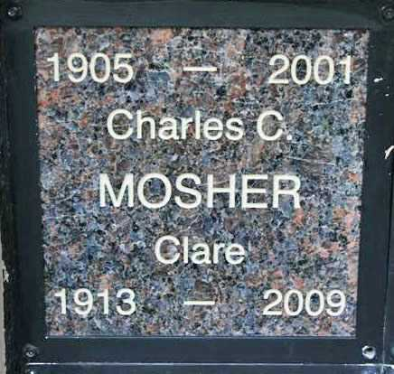 MOSHER, CHARLES CLAYTON - Yavapai County, Arizona | CHARLES CLAYTON MOSHER - Arizona Gravestone Photos