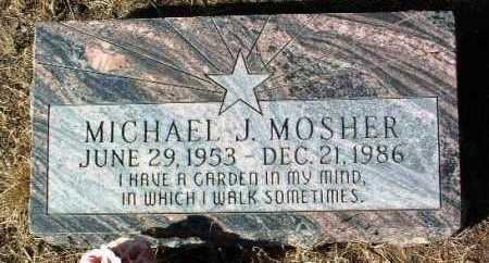 MOSHER, MICHAEL J. - Yavapai County, Arizona   MICHAEL J. MOSHER - Arizona Gravestone Photos