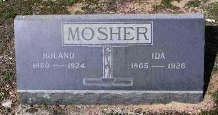 MOSHER, IDA - Yavapai County, Arizona | IDA MOSHER - Arizona Gravestone Photos