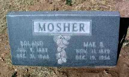 SHAW MOSHER, MAE BELLE - Yavapai County, Arizona | MAE BELLE SHAW MOSHER - Arizona Gravestone Photos