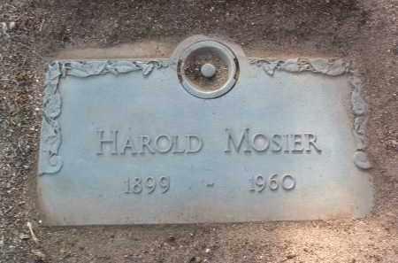MOSIER, HAROLD AUGUSTUS - Yavapai County, Arizona | HAROLD AUGUSTUS MOSIER - Arizona Gravestone Photos