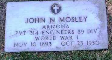 MOSLEY, JOHN N. - Yavapai County, Arizona | JOHN N. MOSLEY - Arizona Gravestone Photos