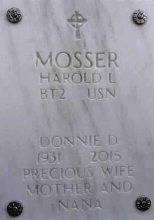 DAY MOSSER, DONNIE D. - Yavapai County, Arizona | DONNIE D. DAY MOSSER - Arizona Gravestone Photos
