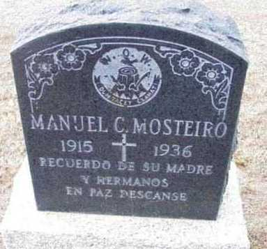 MOSTEIRO, MANUEL C. - Yavapai County, Arizona | MANUEL C. MOSTEIRO - Arizona Gravestone Photos