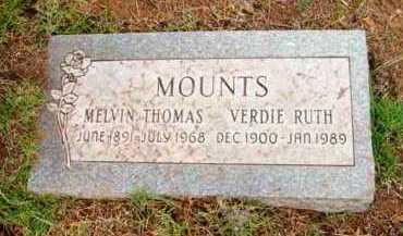 MOUNTS, VERDIE RUTH - Yavapai County, Arizona | VERDIE RUTH MOUNTS - Arizona Gravestone Photos
