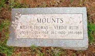 THATCHER MOUNTS, VERDIE RUTH - Yavapai County, Arizona | VERDIE RUTH THATCHER MOUNTS - Arizona Gravestone Photos