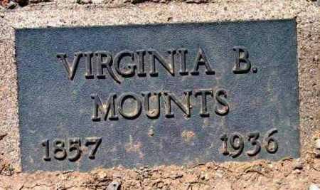 WERTHNER MOUNTS, VIRGINIA BELLE - Yavapai County, Arizona | VIRGINIA BELLE WERTHNER MOUNTS - Arizona Gravestone Photos