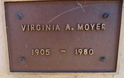 LONG MOYER, VIRGINIA A. - Yavapai County, Arizona | VIRGINIA A. LONG MOYER - Arizona Gravestone Photos