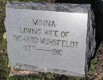 MUHSFELDT, MINNA - Yavapai County, Arizona | MINNA MUHSFELDT - Arizona Gravestone Photos