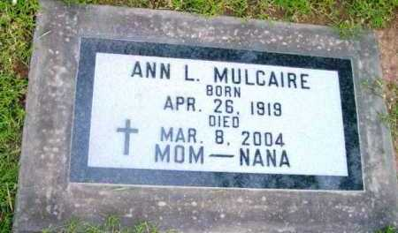 SEARS MULCAIRE, ANN L. - Yavapai County, Arizona | ANN L. SEARS MULCAIRE - Arizona Gravestone Photos