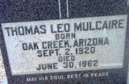 MULCAIRE, THOMAS LEO - Yavapai County, Arizona | THOMAS LEO MULCAIRE - Arizona Gravestone Photos