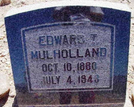 MULHOLLAND, EDWARD T. - Yavapai County, Arizona | EDWARD T. MULHOLLAND - Arizona Gravestone Photos