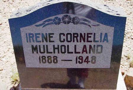 MULHOLLAND, IRENE CORDELIA - Yavapai County, Arizona | IRENE CORDELIA MULHOLLAND - Arizona Gravestone Photos