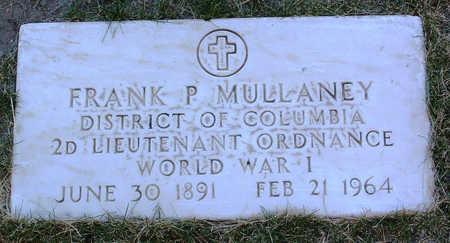 MULLANEY, FRANK  P. - Yavapai County, Arizona | FRANK  P. MULLANEY - Arizona Gravestone Photos