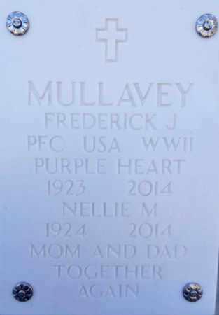MULLAVEY, NELLIE MAY - Yavapai County, Arizona | NELLIE MAY MULLAVEY - Arizona Gravestone Photos