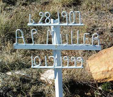 MULLER, AUDREY F. - Yavapai County, Arizona | AUDREY F. MULLER - Arizona Gravestone Photos