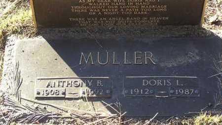 MULLER, ANTHONY B. - Yavapai County, Arizona | ANTHONY B. MULLER - Arizona Gravestone Photos