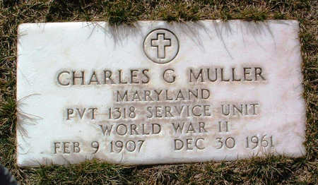 MULLER, CHARLES G. - Yavapai County, Arizona | CHARLES G. MULLER - Arizona Gravestone Photos