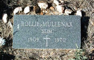 MULLENAX, ROLLIE  (SLIM) - Yavapai County, Arizona | ROLLIE  (SLIM) MULLENAX - Arizona Gravestone Photos