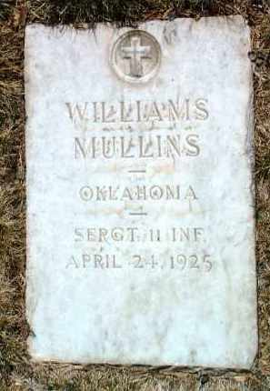 MULLINS, WILLIAMS - Yavapai County, Arizona | WILLIAMS MULLINS - Arizona Gravestone Photos