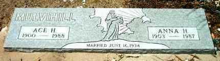 HERGETT MULVIHILL, ANNA H. - Yavapai County, Arizona | ANNA H. HERGETT MULVIHILL - Arizona Gravestone Photos