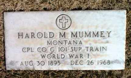MUMMEY, HAROLD MONFORD - Yavapai County, Arizona   HAROLD MONFORD MUMMEY - Arizona Gravestone Photos