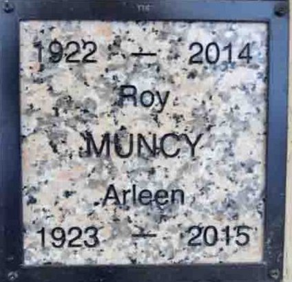 MUNCY, ROY ROBERT - Yavapai County, Arizona   ROY ROBERT MUNCY - Arizona Gravestone Photos
