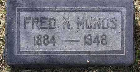 MUNDS, FRED NUTEN - Yavapai County, Arizona | FRED NUTEN MUNDS - Arizona Gravestone Photos