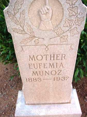 MUNOZ  PINA, EUFEMIA - Yavapai County, Arizona   EUFEMIA MUNOZ  PINA - Arizona Gravestone Photos