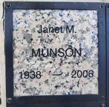 GILBORD MUNSON, JANET - Yavapai County, Arizona | JANET GILBORD MUNSON - Arizona Gravestone Photos