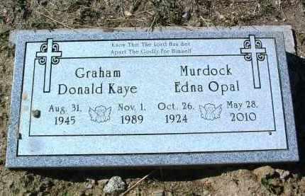LANE GRAHAM, EDNA OPAL - Yavapai County, Arizona | EDNA OPAL LANE GRAHAM - Arizona Gravestone Photos