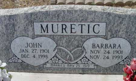 MURETIC, BARBARA - Yavapai County, Arizona | BARBARA MURETIC - Arizona Gravestone Photos