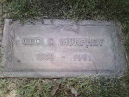 MURPHEY, GEORGE S. - Yavapai County, Arizona | GEORGE S. MURPHEY - Arizona Gravestone Photos