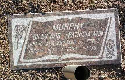 MURPHY, BILLY BOB - Yavapai County, Arizona   BILLY BOB MURPHY - Arizona Gravestone Photos