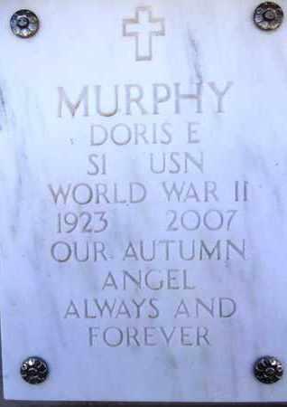 MURPHY, DORIS E. - Yavapai County, Arizona   DORIS E. MURPHY - Arizona Gravestone Photos