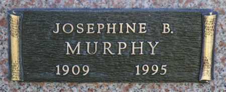 MURPHY, JOSEPHINE B. - Yavapai County, Arizona | JOSEPHINE B. MURPHY - Arizona Gravestone Photos