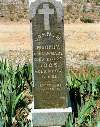 MURPHY, JOHN M. - Yavapai County, Arizona | JOHN M. MURPHY - Arizona Gravestone Photos
