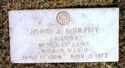 MURPHY, JOHN A. - Yavapai County, Arizona   JOHN A. MURPHY - Arizona Gravestone Photos